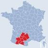 Midi Pyrenees region