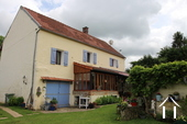 Renovated charming character house in the Puisaye